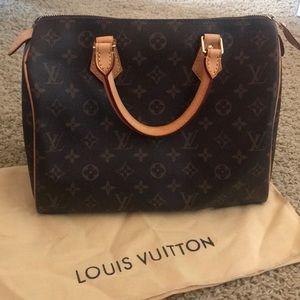 100% AUTHENTIC LOUIS VUITTON HAND BAG